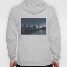 The Palace of Westminster London Oil on Canvas Hoody