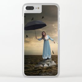 The Spectator of Fredom Clear iPhone Case