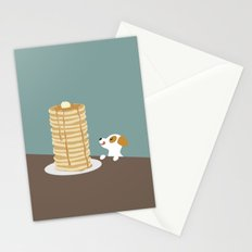 Hungry Dog  Stationery Cards