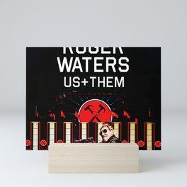 ROGER WATERS US+THEM TOUR DATES 2019 TULIP Mini Art Print