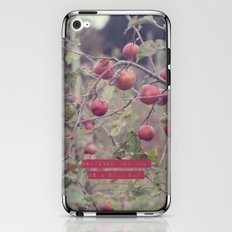 Be A Good One II  iPhone & iPod Skin