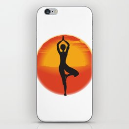 Red Sunset iPhone Skin