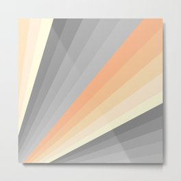 Sunrise - Colorful Abstract Art Metal Print