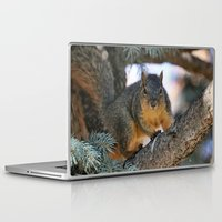 the neighbourhood Laptop & iPad Skins featuring You're Back...with nuts I hope... by IowaShots
