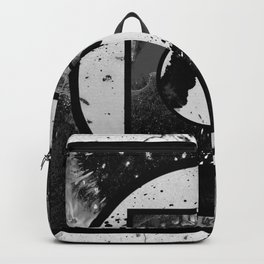 Abstract Geometric Studies In Black And White Backpack