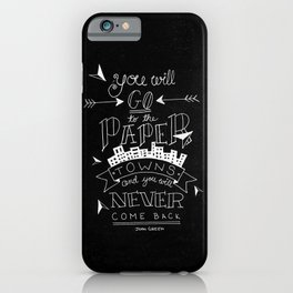 Paper Towns iPhone Case
