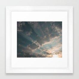 Rays of Sunlight Framed Art Print
