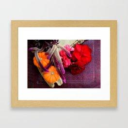 Bloody, Creepy, October-feast For The Eyes Framed Art Print