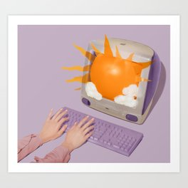 Sun Screen Art Print