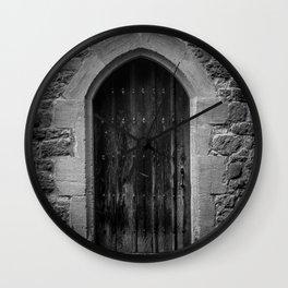 A Doorway Awaits at Leeds Castle Wall Clock