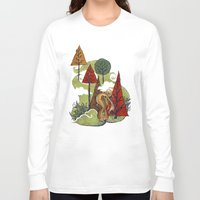creativity Long Sleeve T-shirts featuring Creativity by artchica