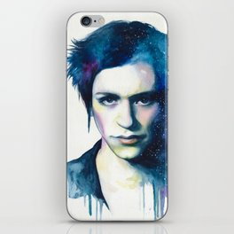 Brian Molko (Night  sky) iPhone Skin