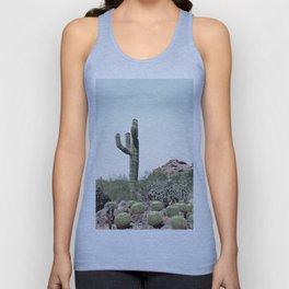 Cactus in the desert Unisex Tank Top