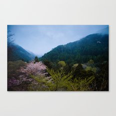 Japanese forest 3 Canvas Print