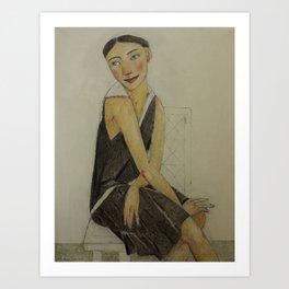 LADY KATE Art Print