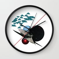 2001 Wall Clocks featuring 2001 by lina