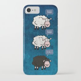 Bored Sheep iPhone Case