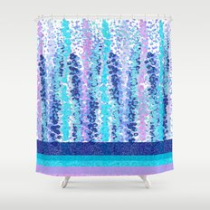 90's Colorburst Shower Curtain