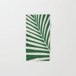 Minimalist Palm Leaf Hand & Bath Towel