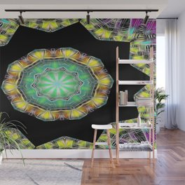 Kaleidoscope Colour forms with joy Wall Mural