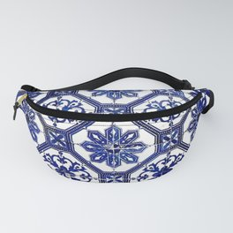 Blue and White Portuguese Tile - Fanny Pack
