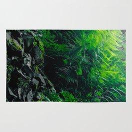 Rocks and Ferns Rug