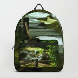 Moss gardern path Backpack