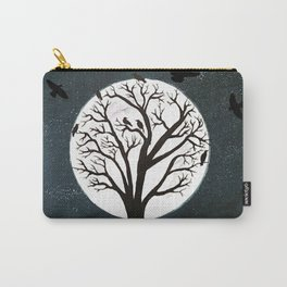 Peaceful Moon Night Gathering Carry-All Pouch