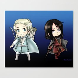 Chibi Beleg and Turin Canvas Print