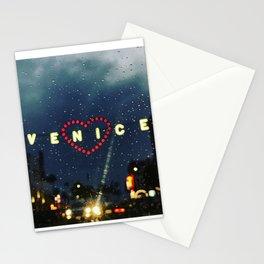 Tear Drops Falling on my Window Stationery Cards