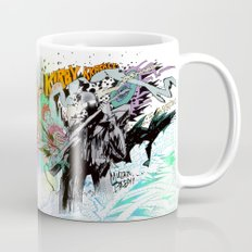 Kirby Krackle MUTATE, BABY! Album Cover (Wraparound Art) Mug