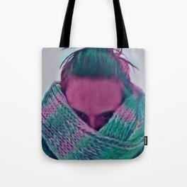 Cold and Unhappy Tote Bag