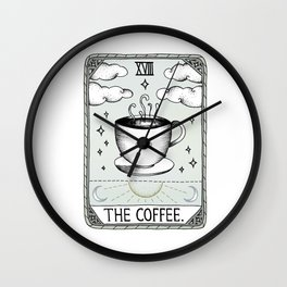 The Coffee Wall Clock