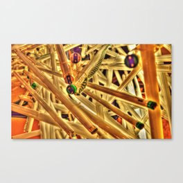 Through Core and Cable Canvas Print