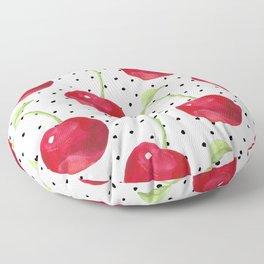 Cherry pattern II Floor Pillow