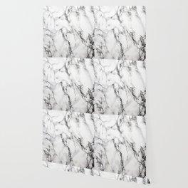 White Marble Texture Wallpaper