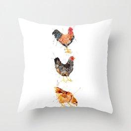 Chicka Dee Throw Pillow
