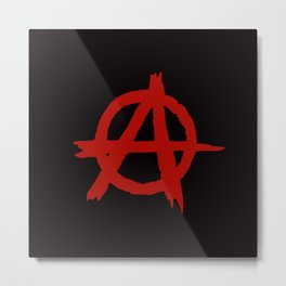 Anarchy Metal Print