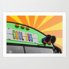 Cool Bus Art Print