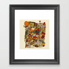 colorful dreams Framed Art Print