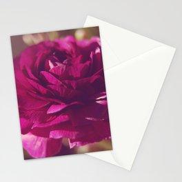 Crimson Rose Stationery Cards