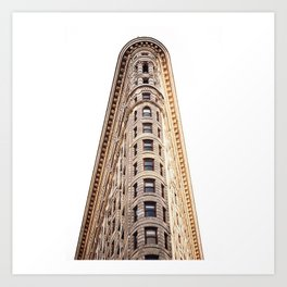 sir flatiron Art Print
