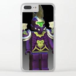 Wrath - Warrior Clear iPhone Case