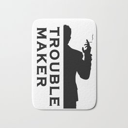 TROUBLE MAKER Bath Mat
