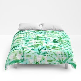 Abstract Jungle Comforters