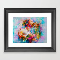 Travie McCoy Framed Art Print