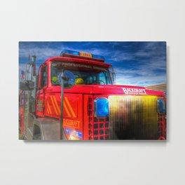 American Stunt truck Metal Print
