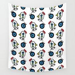 Pajaros by Rolando Chang Barrero Wall Tapestry