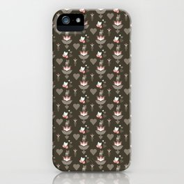 Love Flower iPhone Case