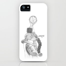 Love & Basketball iPhone Case
